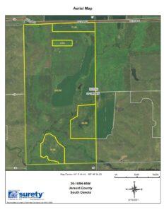 Section 20, T108N-R66W Harmony Township, Jerauld County , South Dakota