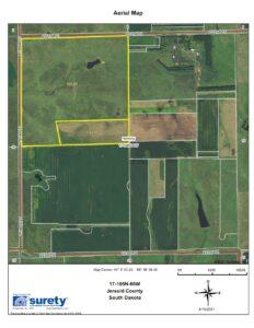 17, T108N-R66W Harmony Township, Jerauld County , South Dakota
